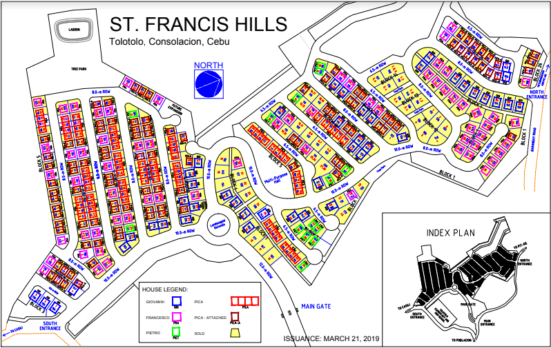 St. Francis map march 2019