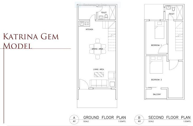 BF Bellaville Katrina Gem model floor plan