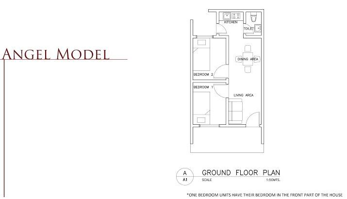 BF Bellaville  angel floor plan