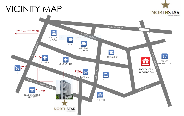 Northstar vicinity map