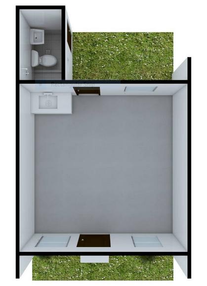 Villa Casita flr plan