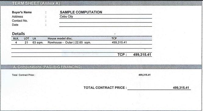 Villa Casita payment 5