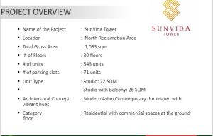 Sunvida Tower over view