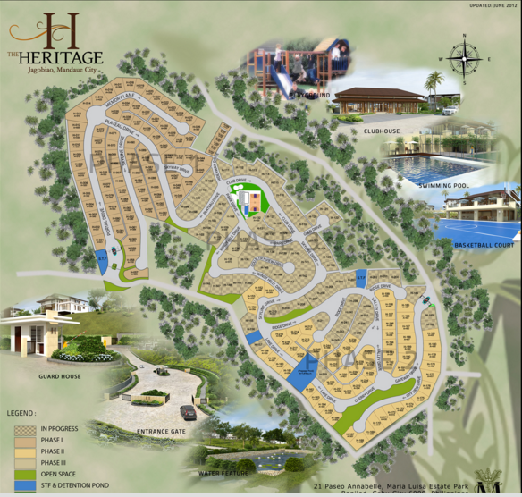 The Heritage map