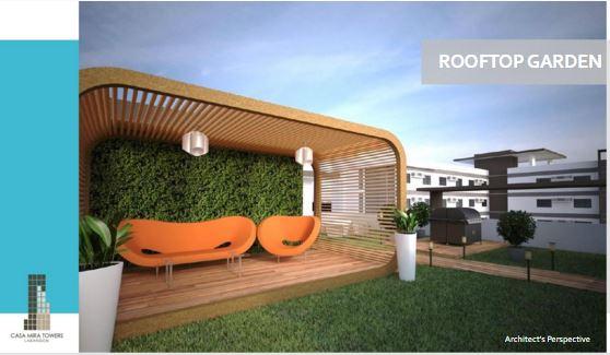 Casa Mira Tower roof garden