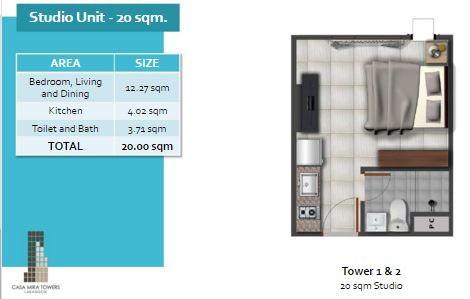 Casa Mira Tower studio