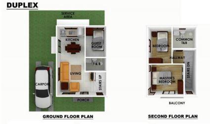 Serenis floor plan duplex