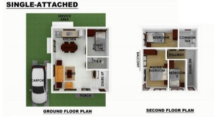 Serenis singla attached floor plan