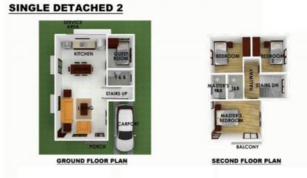 Serenis single detached floor plan 2