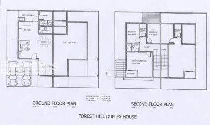 Forest Hills Duplex floor plan