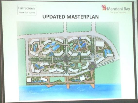 Mandani Bay updated master plan