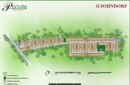 Portville map