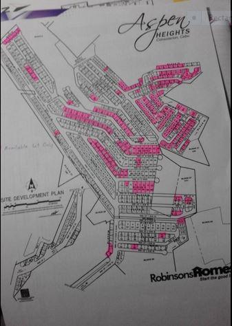 Aspen Heights map lot 1