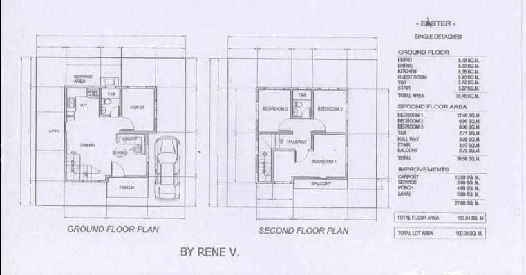 North Verdana Ester floor plan