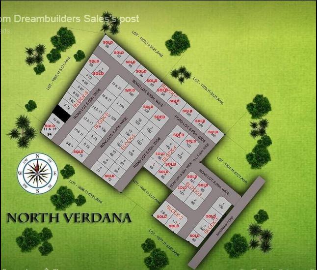 North Verdana map june 2019