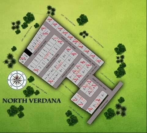 North Verdana updated map 2016