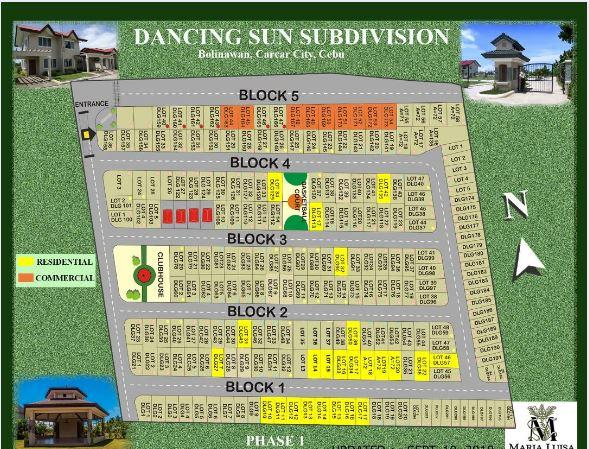 Dancing Sun map feb. 2019