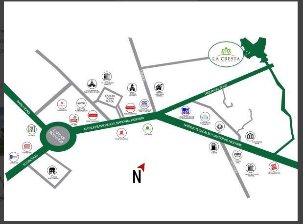 La Cresta Hills map