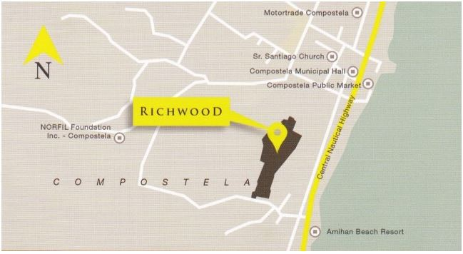 Richwood Homes map