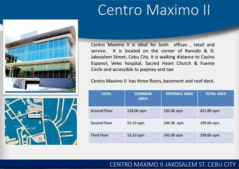 Boromeo centro maximo 2 price