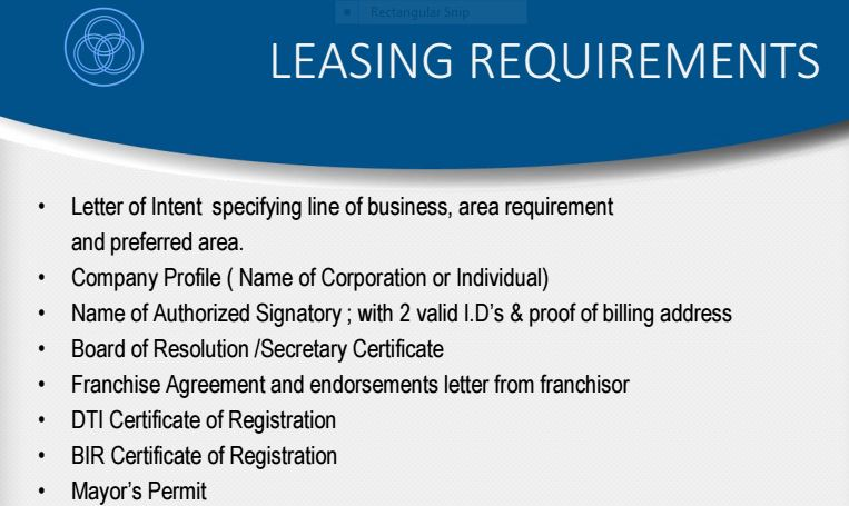Boromeo leasing requirements