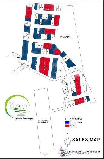 Crescent ville map