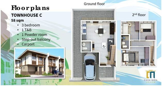 Casa MIra south floor plan c