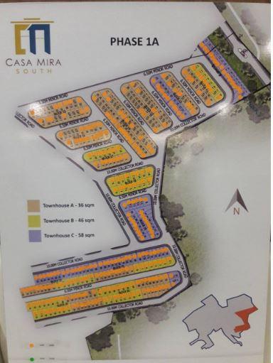 Casa Mira naga updated map phase 1A jan