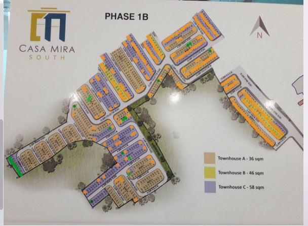 Casa Mira naga updated map phase 1B jan