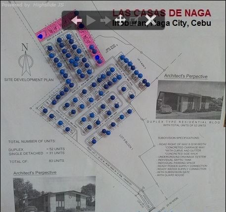 Las Casas vicinity map 2