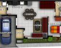 South City Homes Bulacao flr plan 3