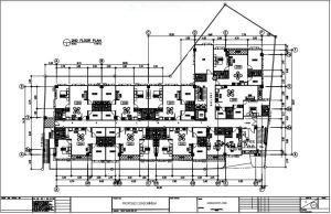 Trivoli Condo floor plan 1