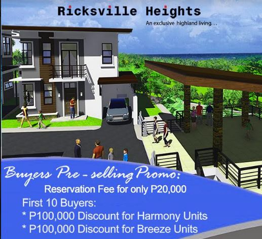 Ricksville Heights promo jan