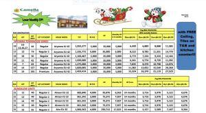 Camella Carcar price 3 Nov. 2017