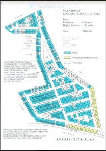 Villa Donna Map Nov. 2017