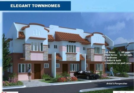 Pacific Grand townhomes pic