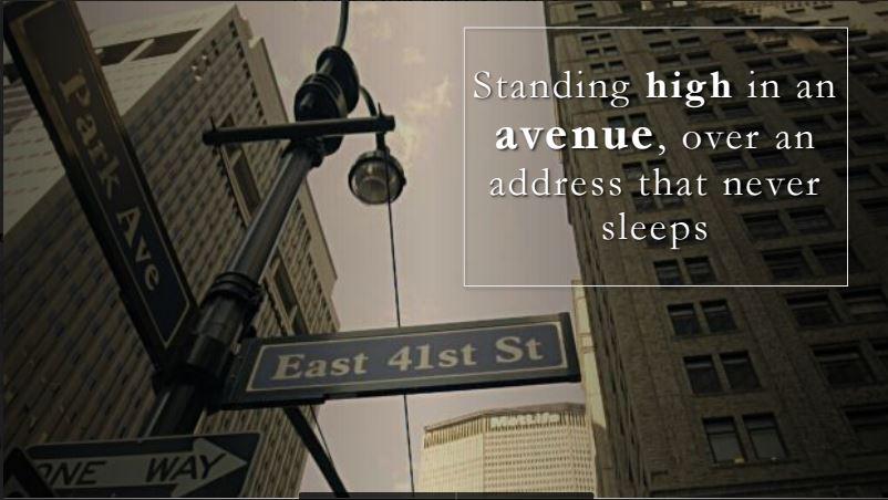 38 Park Avenue high