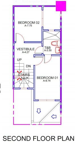 Mabolo House & Lot floor plan 2
