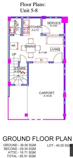 Mabolo House & Lot floor plan 4