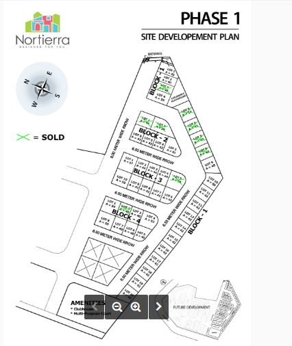 Nortierra Pitos map jan
