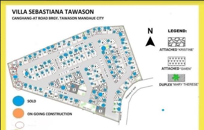 Villa Sebastiana map june 2018