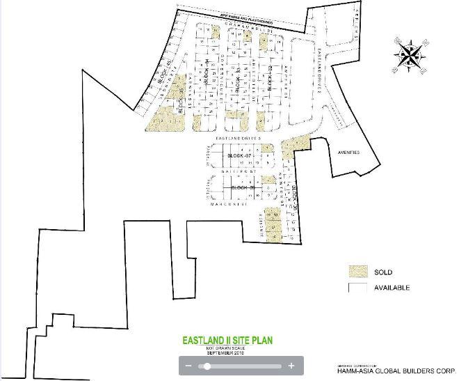 Eastland Estate 11 map Sept. 2018