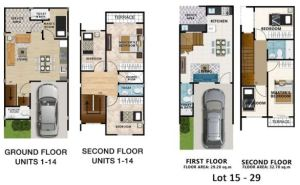 Talisay View Homes floor plan