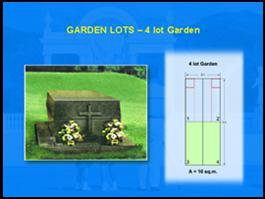 Angelicum Garden of Angels 4 lot garden