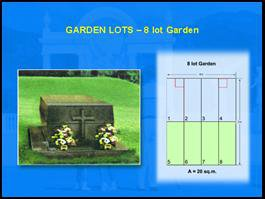 Angelicum Garden of Angels 8 lot garden