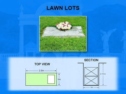 Angelicum Garden of Angels lawn lots. 2