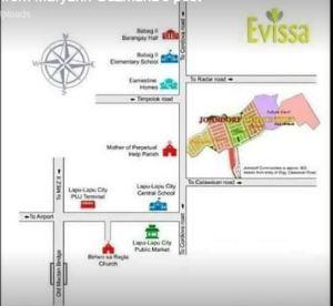 Evissa vicinity map