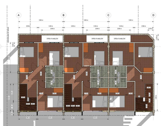 Highland Residences floor plan second