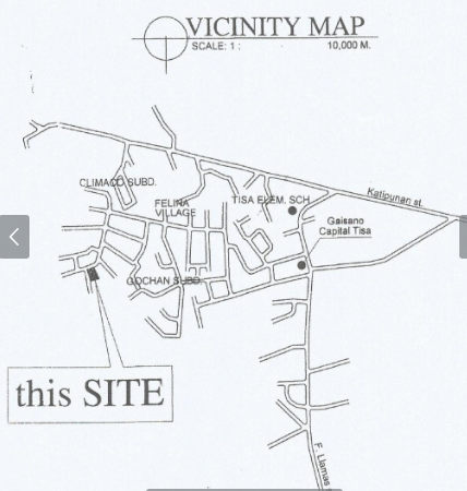 Highland Residences location map 1