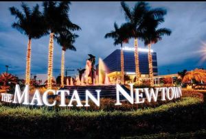 The Mactan Newtown entrance